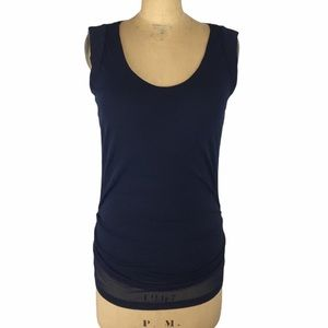 Mexx Layered Tank Top with Ruched Detail